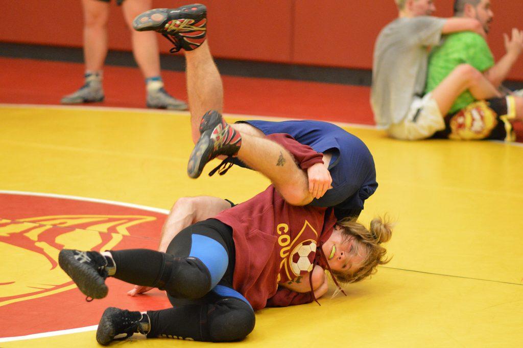 Capital girls wrestling