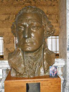 George Washington bust olympia