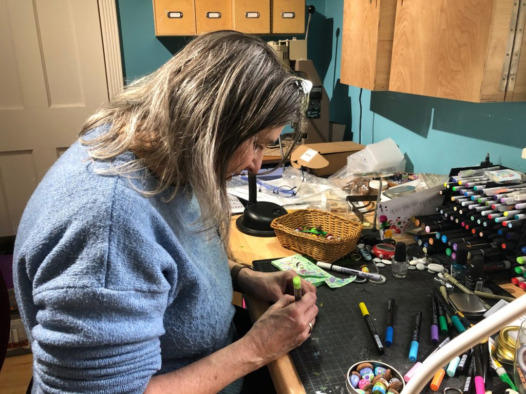 Olympia Artist Pam Corwin Finds Success Staying One Step