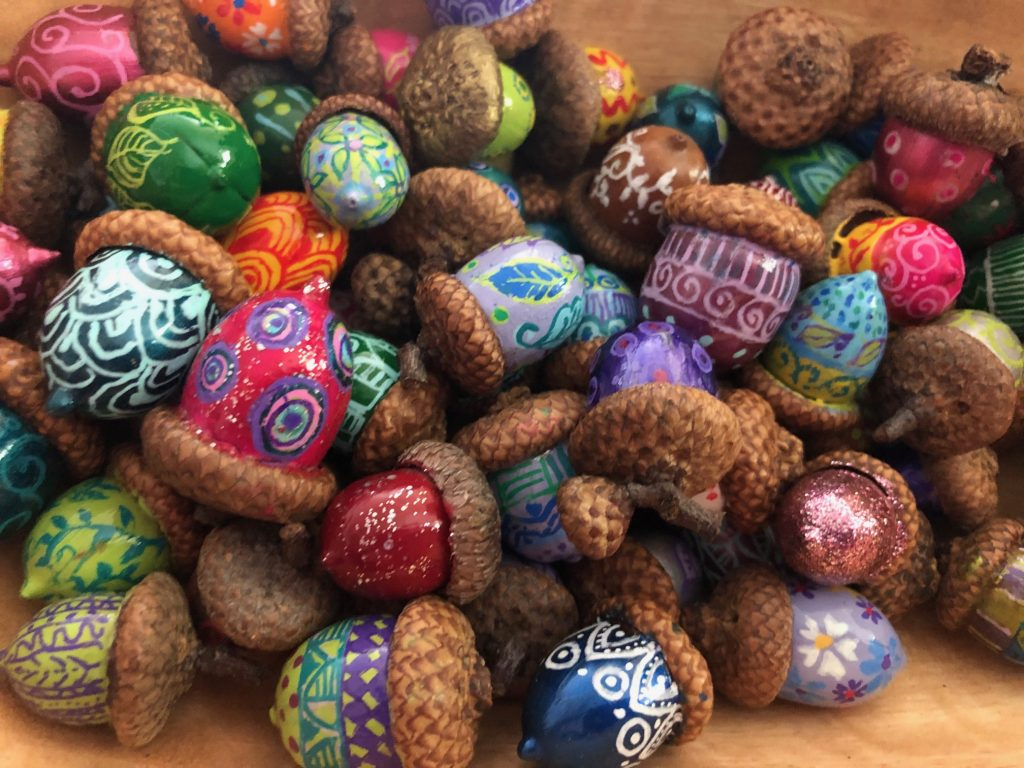 Pam Corwin acorns