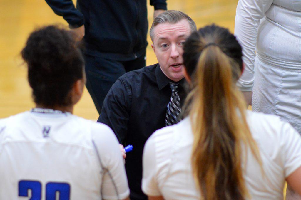 Head coach Mike Moore