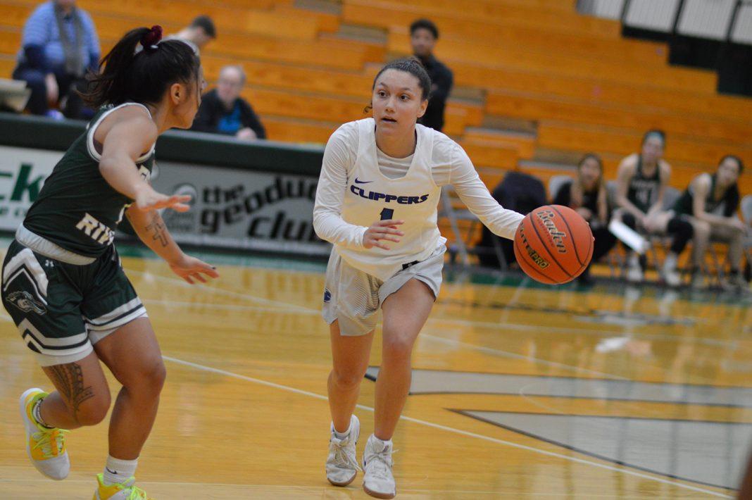 South Puget Sound womens basketball February 8