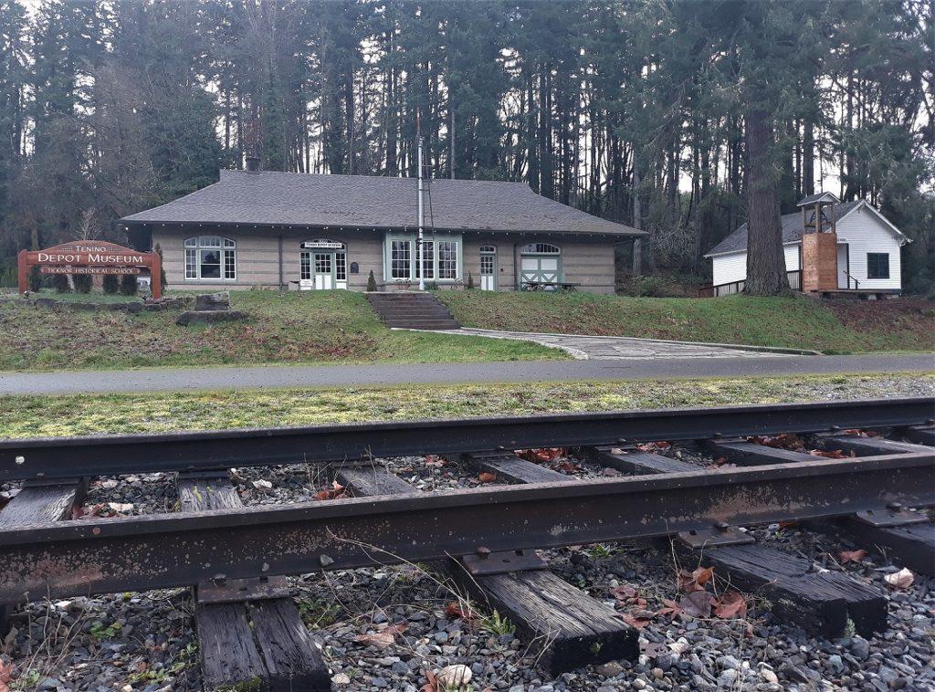 Tenino Depot Tracks