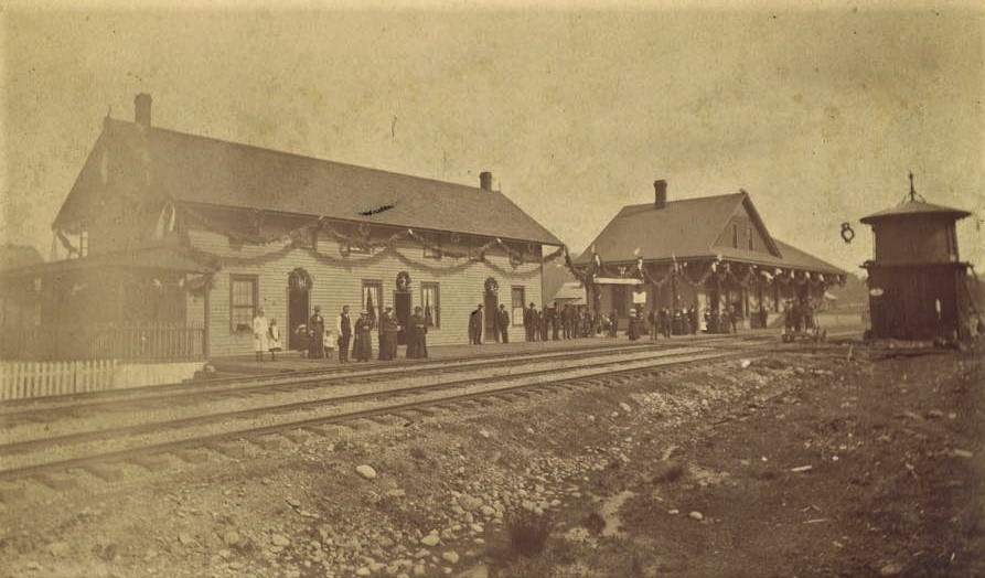 Tenino Station 1883