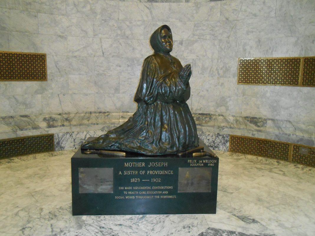 Mother Joseph statue