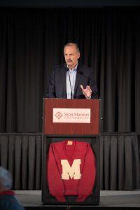 Saint Martin's University athletic director Bob Grisham