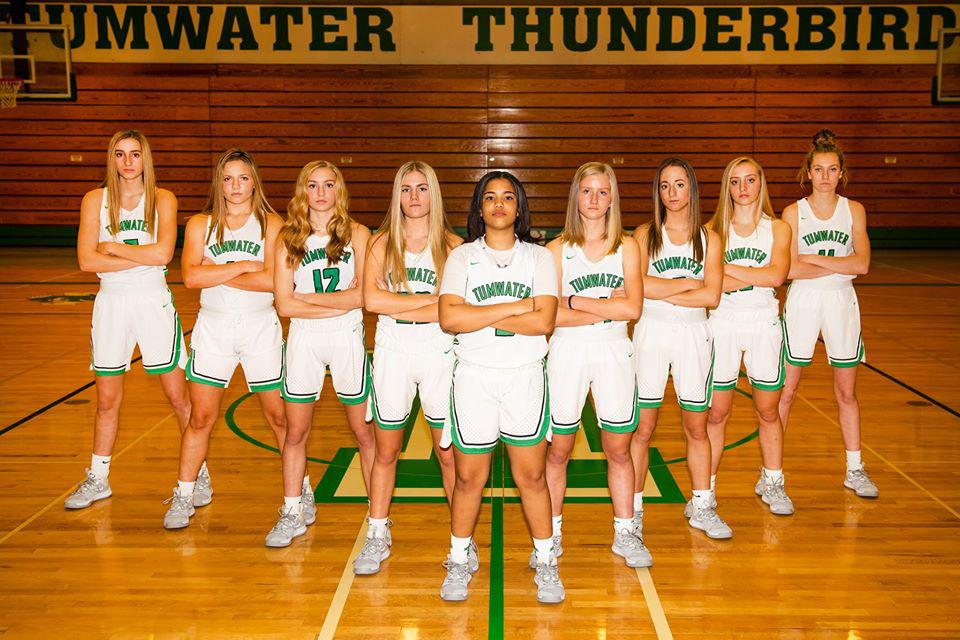 Tumwater girls state basketball