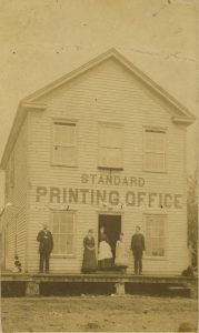 Washington Standard printing office