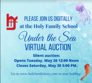 Holy Family School Virtual Silent Auction @ Online