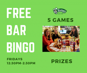 FREE Bar Bingo @ O'Blarney's Irish Pub