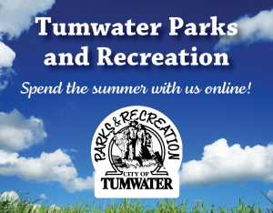 Tumwater Parks & Recreation Online Programs! @ Online