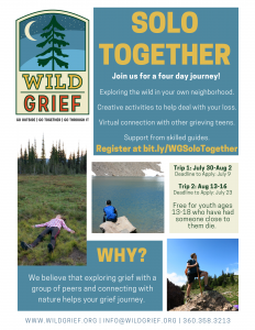 Wild Grief Solo Together Teen Program @ Online