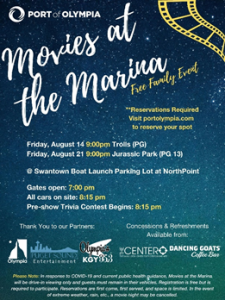 Movies at the Marina- Trolls @ Port of Olympia NorthPoint