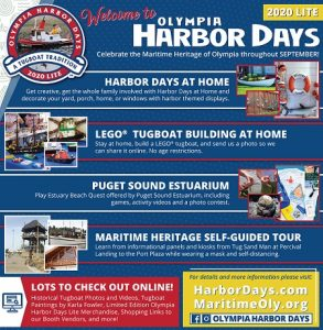 Harbor Days-Olympia Maritime Heritage Self-Guided Tour @ The Whole Month of September