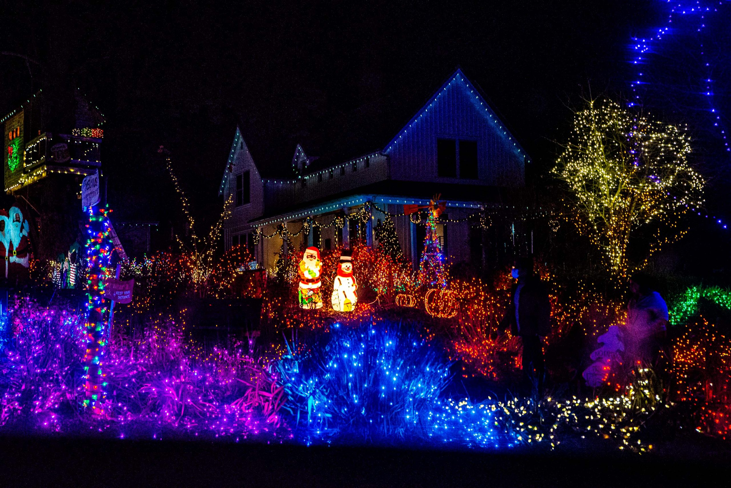 Where Can I Drive To See Neighborhood Christmas Lights Near Puyallup Washington 2021 Where To Find Holiday Light Displays In Thurston County Thurstontalk