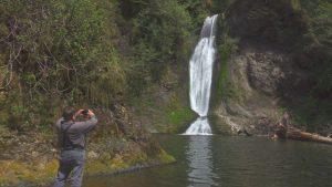 Day trip Waterfalls Olympic Peninsula Spoon-Creek