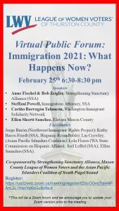 Immigration 2021: What Happens Now (Virtual) @ Virtual - Zoom
