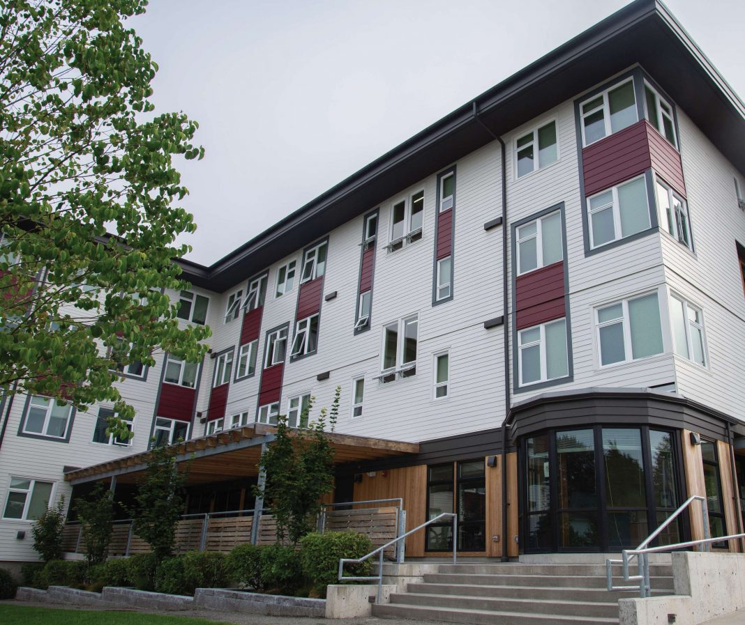 Olympia homelessness Dexel-House
