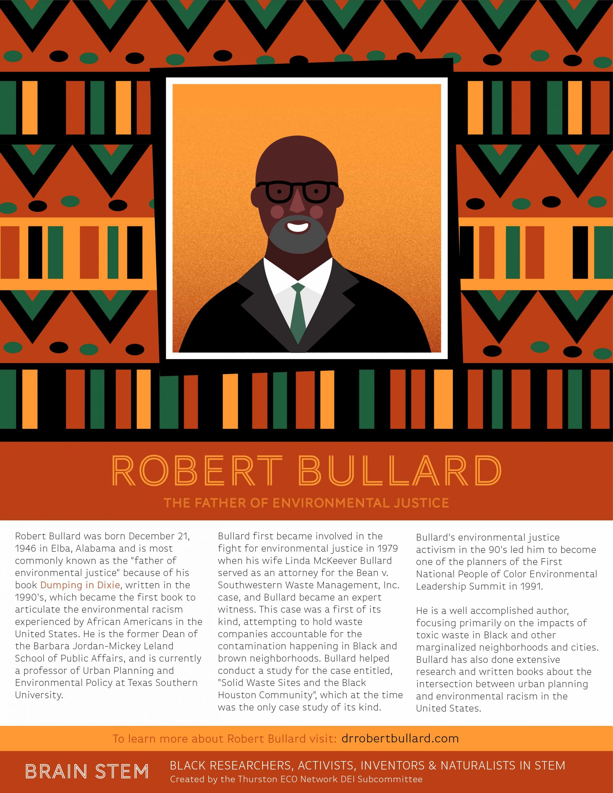 black history month BRAIN STEM bullard