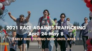 2021 5K Race Against Trafficking @ Online virtual