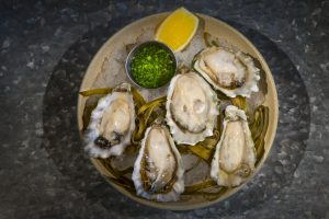 Alderbrook oysters dish