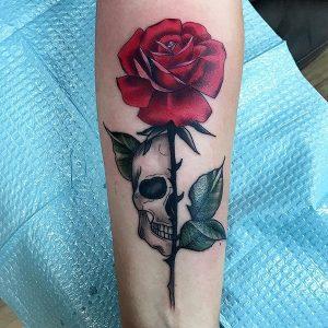 Copper-Wolf-Tattoo Tumwater Rudy-Castillo