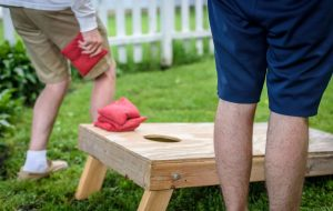 Tumwater's Adult Cornhole League @ Pioneer Park