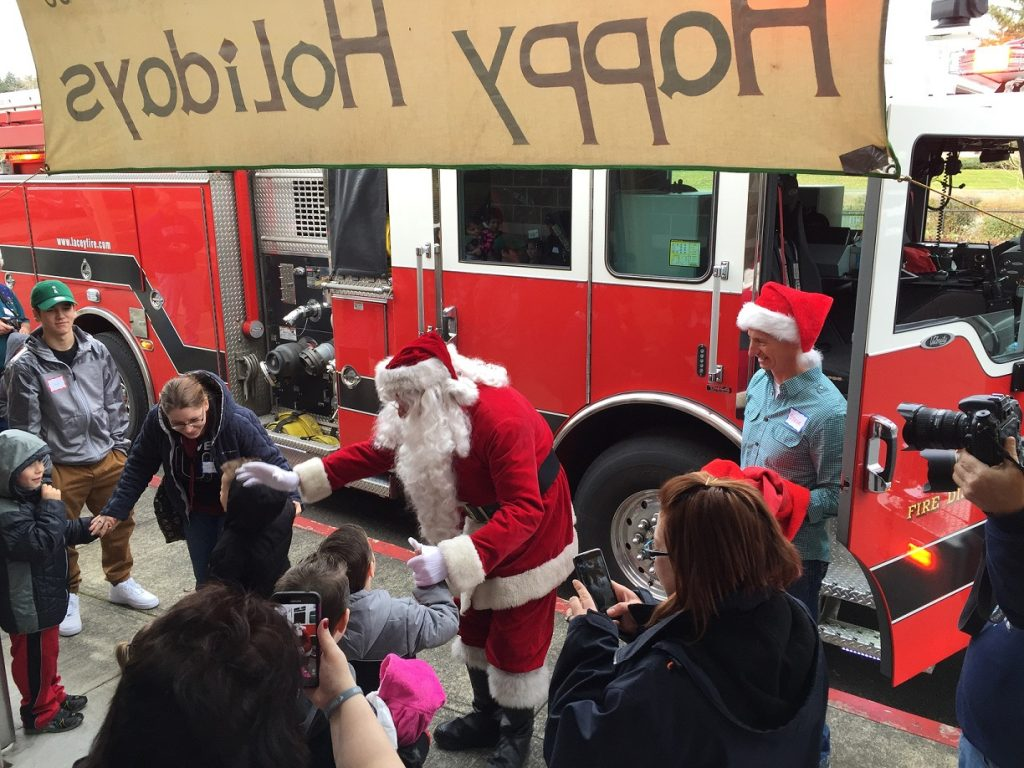 Lacey Firefighter-Patrick Harn Santa