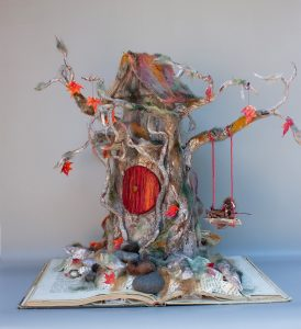 Olympia art Judy-Cook-Library-Tree