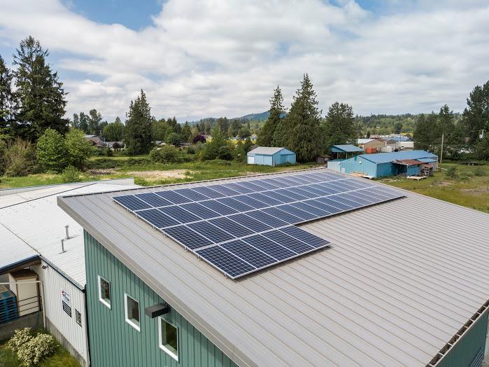 PSE Green-Power-Solar-Grant-Skagit-Food-Distribution-Center