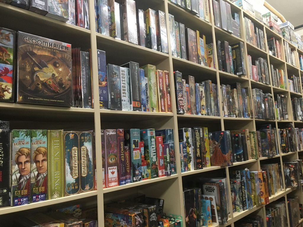 Thrifty-Thurston-Board-Games-Lacey-Gabis-Olympic-Cards-and-Comics