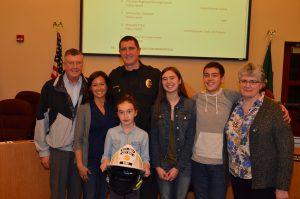 Thurston County Firefighter-Patrick Harn-Family