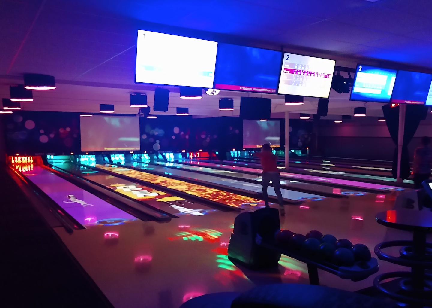 Bowling alley in lacey wa