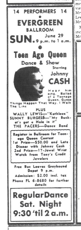 Lacey-history Evergreen-Ballroom Teenage-Queen-Dance-and-Show