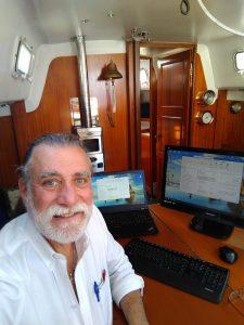 SCJ Alliance Bob Connolly his sailboat Pandora