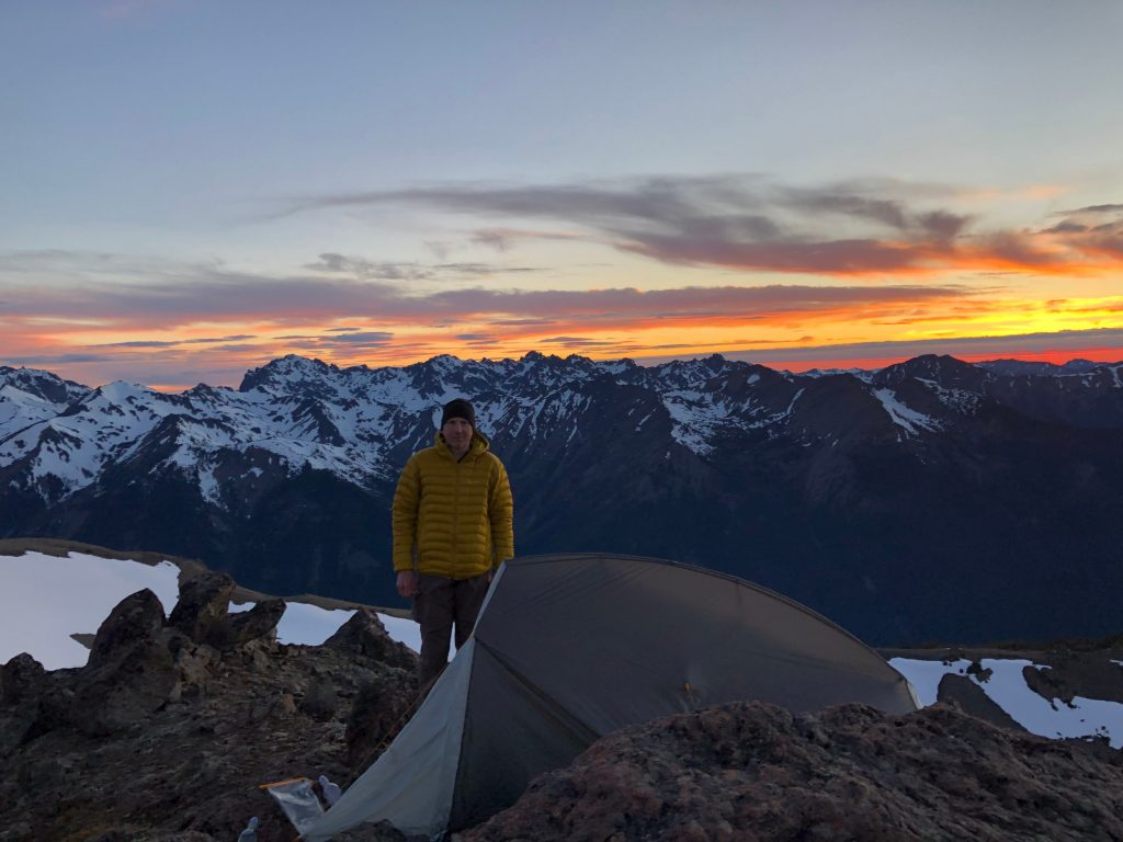 backpacking pacific northwest Richard-Sampson-Buckhorn-Mountain