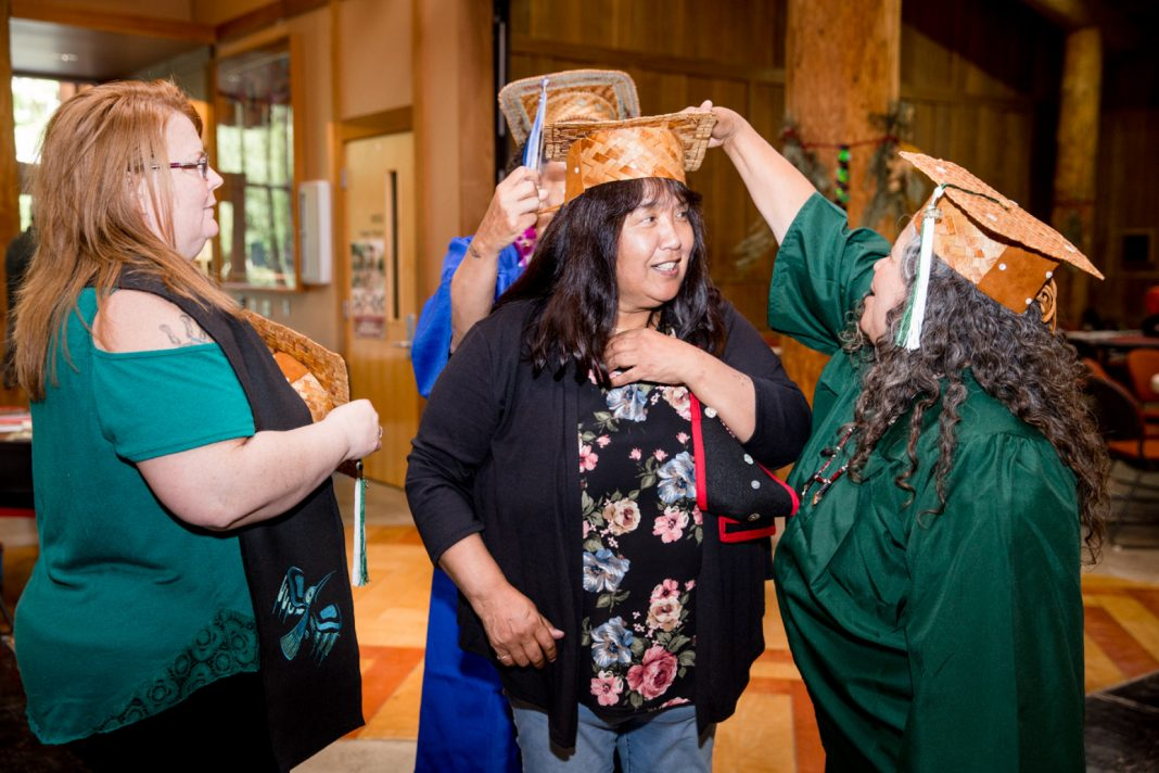 evergreen college native pathways graduation 2018-14
