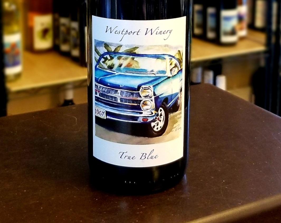 westport winery True Blue
