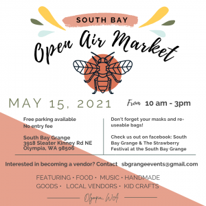 South Bay Open Air Market @ South Bay Grange