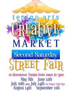 Tenino Arts Creative Market @ Downtown Tenino