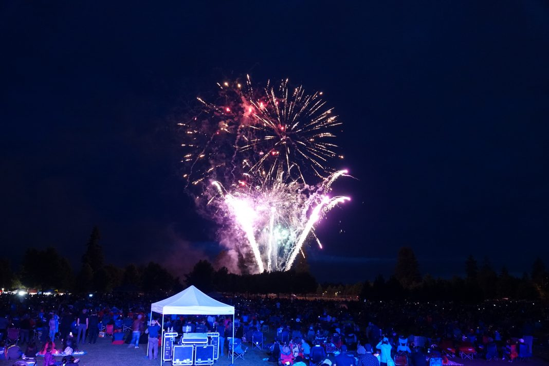 City of lacey Fireworks 2021