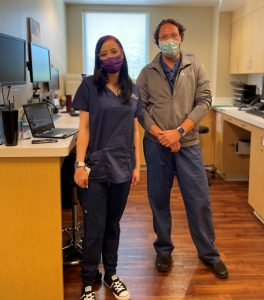 Olympia-Orthopaedic-Associates Ally-and-Dr-Byrd-