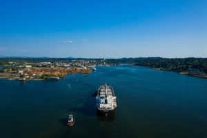 Port of Olympia Ship arrival