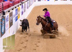 Thurston EDC-Board-Member-Carrie-Whisler-Cow horse