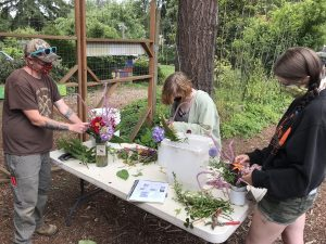 resilience fund community foundation south sound GRuB-Youth-Bouquet-Training-