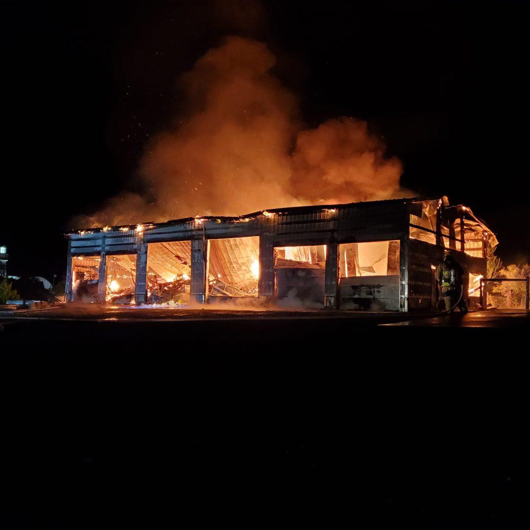 westport winery distillery fire 2021