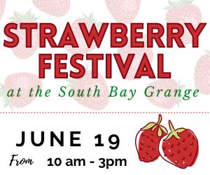Strawberry Festival at the South Bay Grange @ South Bay Grange