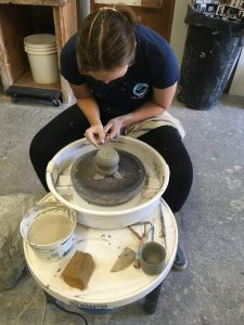 Arbutus Folk School pottery