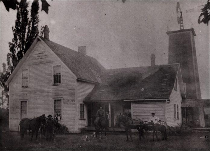 Colvin ranch history house