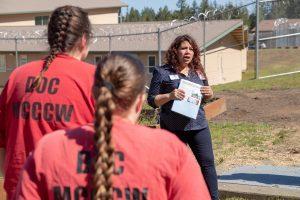 Evergreen College Prison Project Carolina presenting